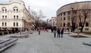 Rekonstrukcija pješačke zone u ulici Bana Milosavljevića