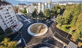 Rekonstrukcija saobraćajnica sa izgradnjom kružne raskrsnice