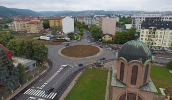Izgradnja kružne raskrnice Rebrovac